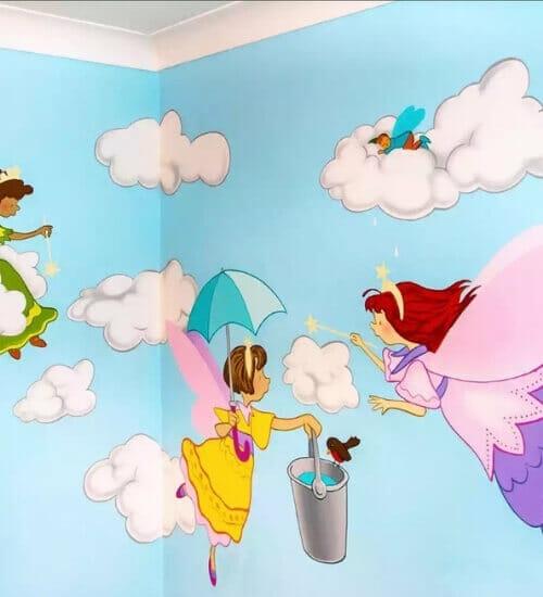 dich vu ve tranh tuong nghe thuat dep hcm fly art vẽ tranh tường Mỹ Thuật Fly Art