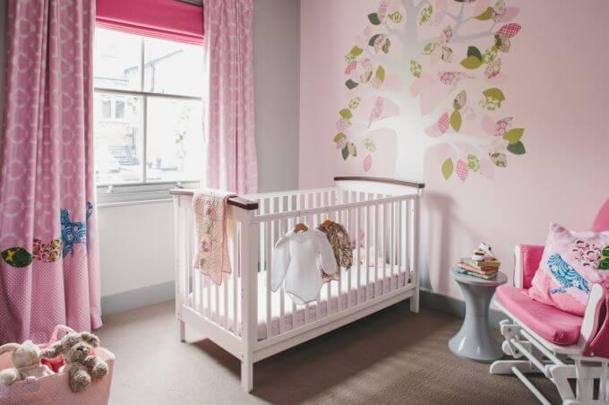 trang trí phòng ngủ cho bé sơ sinh