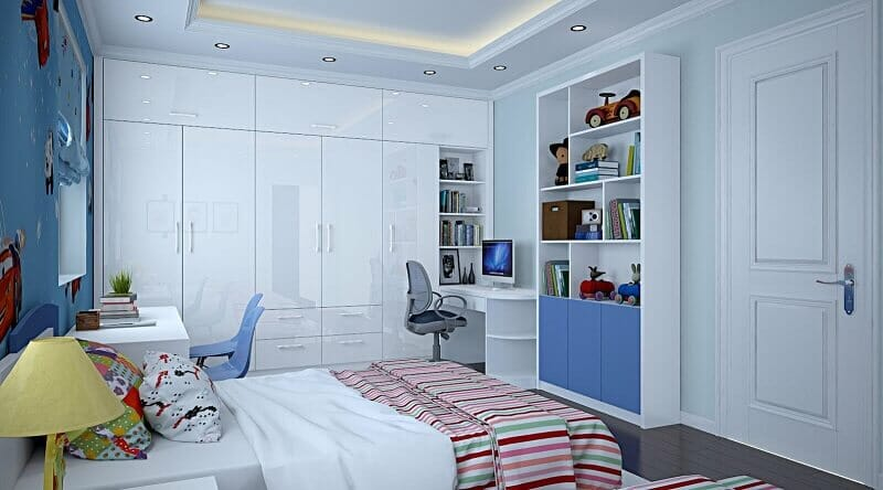 trang trí phòng ngủ cho nữ đơn giản