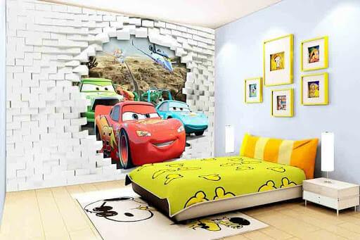 trang trí phòng ngủ nhỏ cho nam đơn giản