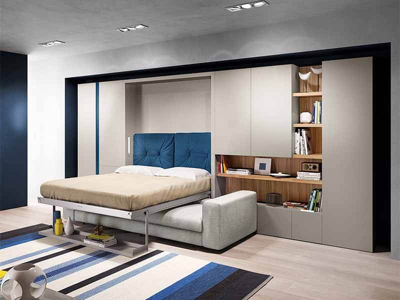 trang trí phòng ngủ nhỏ cho vợ chồng hiện đại