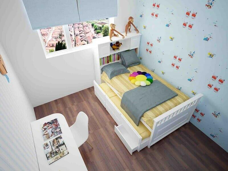 trang trí phòng ngủ nhỏ hẹp