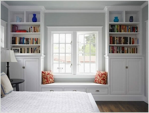 trang trí phòng ngủ nhỏ hẹp trở nên rộng hơn