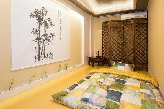 trang trí phòng ngủ nhỏ không giường