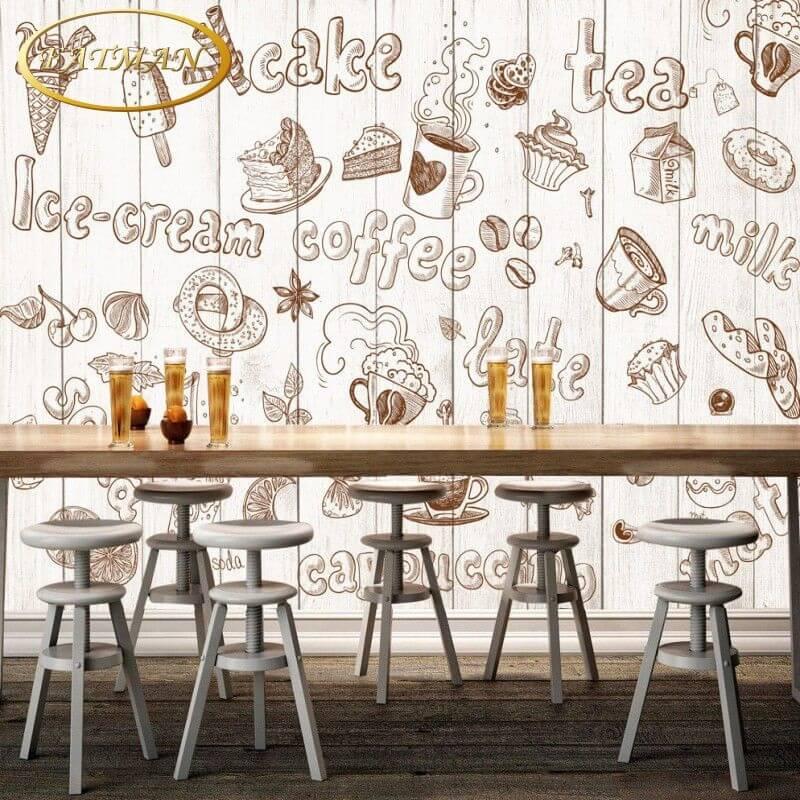 vẽ tranh tương quán cafe đẹp