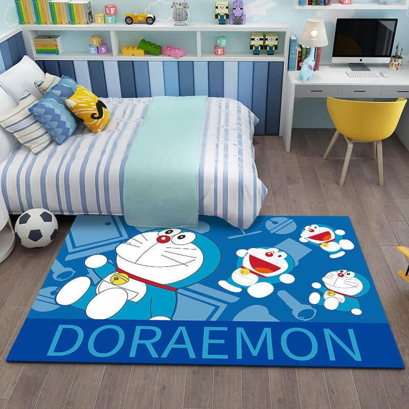 trang trí phòng Doremon đơn giản