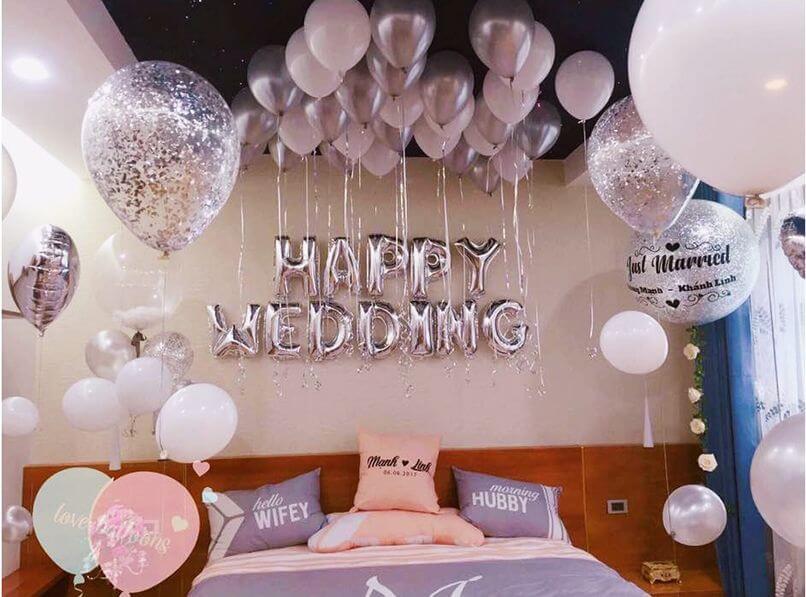 trang trí phòng cưới đẹp mê mẩn