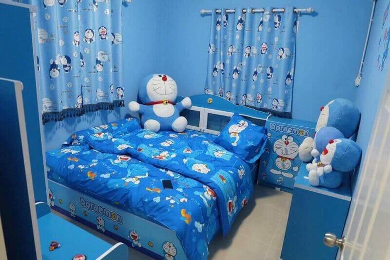 trang trí phòng Doremon độc đáo dễ thương + đáng yêu