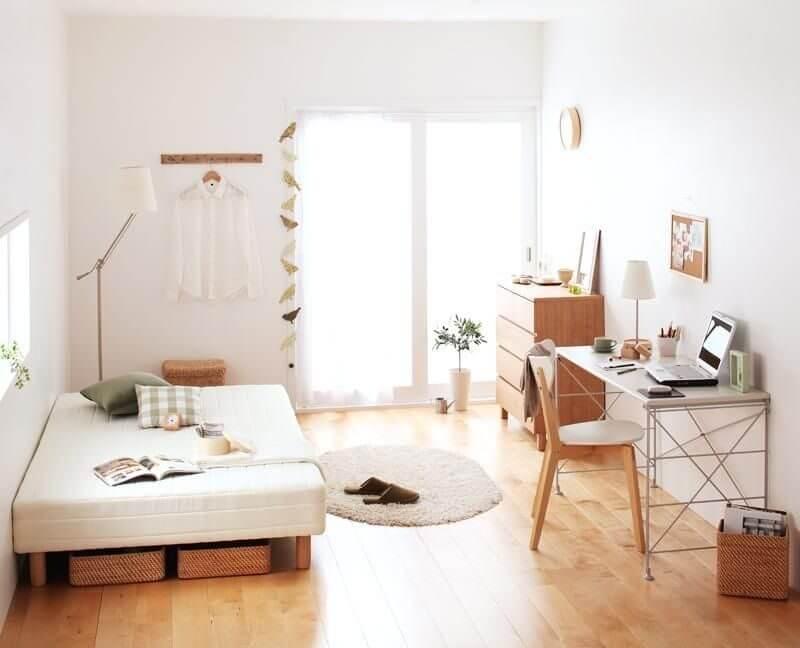 trang trí phòng ngủ dễ thương đơn giản ít tốn kém
