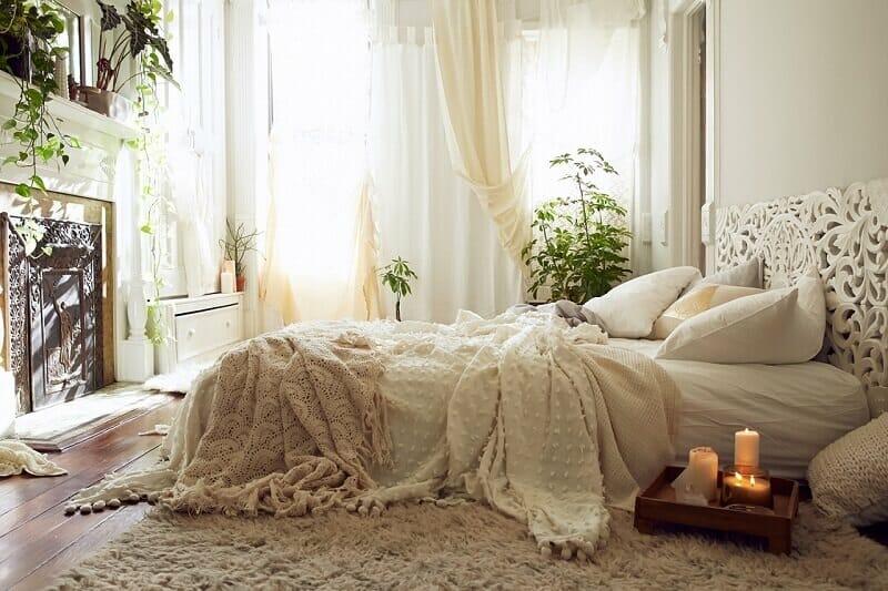 trang trí phòng ngủ không giường đẹp