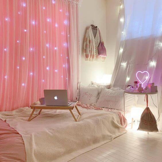 trang trí phòng ngủ kiểu Hàn Quốc đông ấm hè mát