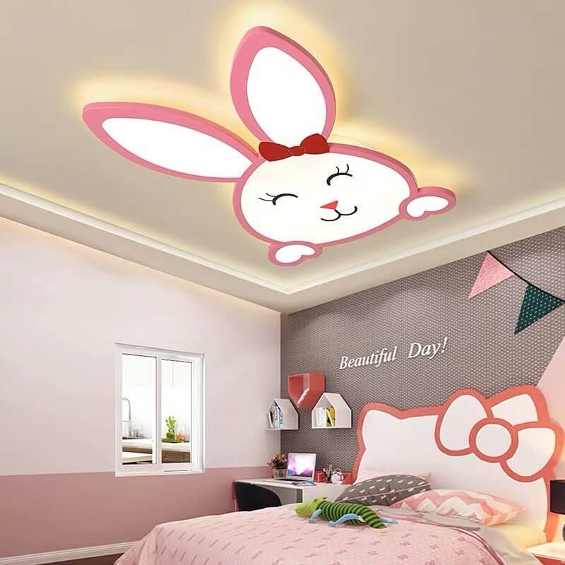 trang trí phòng ngủ màu hồng cho bé gái