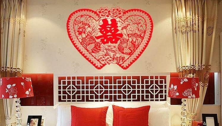 trang trí phòng tân hôn hợp phong thủy