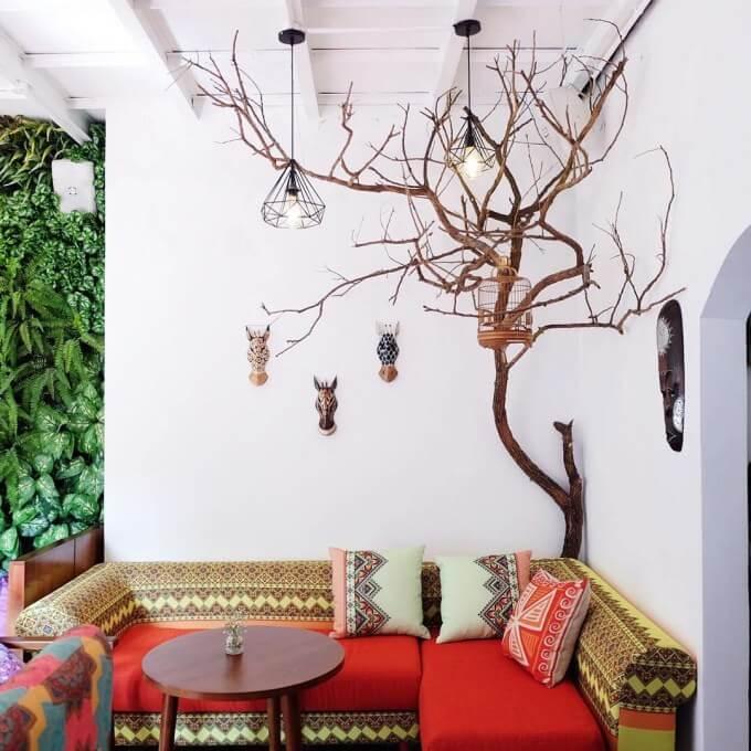 trang trí quán cafe nhỏ đơn giản +hút khách
