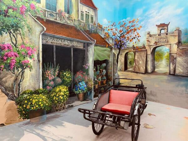 trang trí quán cafe sân vườn độc đáo