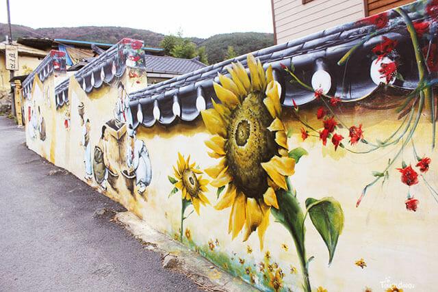 6 vẽ tranh tường Mỹ Thuật Fly Art