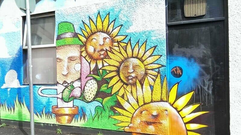 Sunflower Public House 1557872286 vẽ tranh tường Mỹ Thuật Fly Art