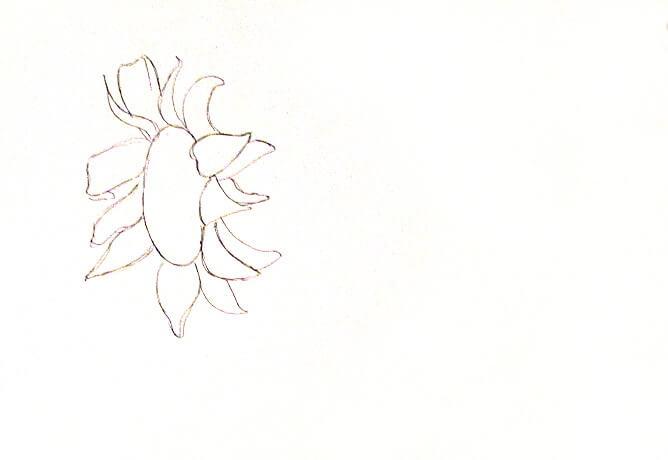 ve tranh tuong hoa huong duong 2 vẽ tranh tường Mỹ Thuật Fly Art