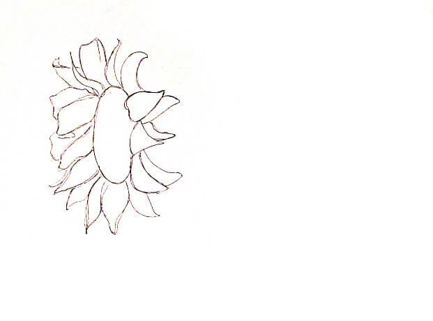 ve tranh tuong hoa huong duong 3 vẽ tranh tường Mỹ Thuật Fly Art