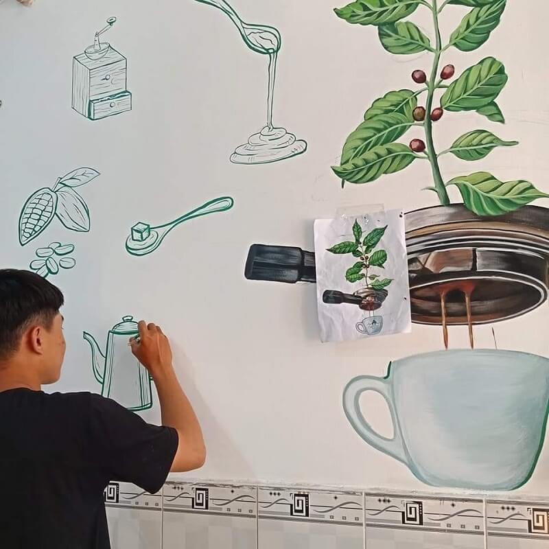 IMG 6144 vẽ tranh tường Mỹ Thuật Fly Art