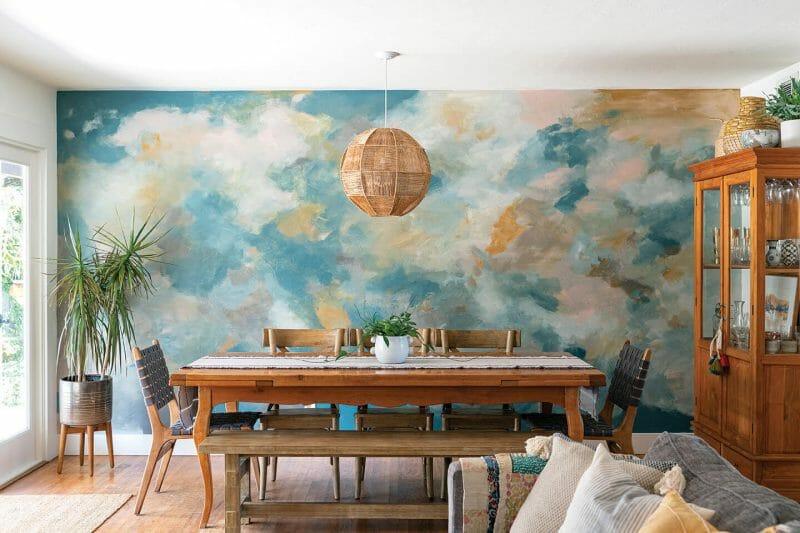 Chọn không gian vẽ tranh tường
